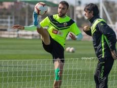 Pacheta admitió lo complicado de puntuar en Pamplona. Twitter/elchecfoficial