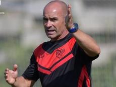 Paco Jémez tira de cantera ante el Almería. Twitter/RayoVallecano