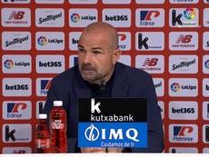 Paco López analizó el Athletic-Levante. Captura/LaLiga
