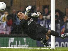 Palop se convirtió en héroe en los penaltis. EFE