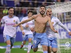 El Zaragoza ya nota la llegada de Víctor. LaLiga