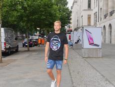 El delantero da el salto a la Bundesliga. HerthaBSC