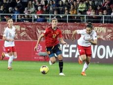 España se quedó con ganas de más ante Polonia. EFE