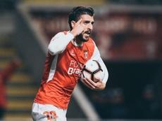 El Sporting de Braga cae y el Vitória Guimaraes mete presión. Twitter/SCBragaOficial