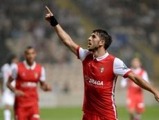 O Sp. Braga bateu o Vitória de Setúbal, por 3-1. Twitter/SCB
