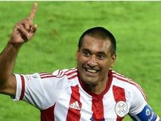 Paulo Da Silva volverá a vestir la camiseta de Libertad. AFP