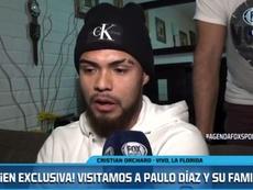 Paulo Díaz declaró su amor por River. Captura/FOXSports