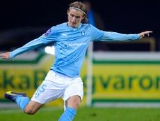El Malmo empató el partido ante el Ostersunds. MalmoFF