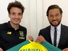 Chirivella se fue a la Ligue 1. NantesFC