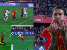 Ramos converted the match-winning penalty. Capturas/RTVE