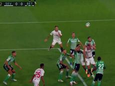 Lucas Ocampos marque le premier but depuis la reprise de La Liga ! Captura/MovistarLaLiga