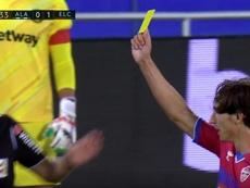 Pere Milla marcó, le anularon otro gol ¡y amonestó al árbitro! Captura/Movistar+
