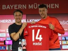 Perisic lucirá el '14' en el Bayern. FCBayern