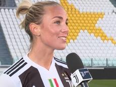 Petronella Ekroth denunció censura en relación a la acusación a Cristiano Ronaldo. JuventusTV