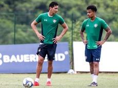 Ganso participa de jogo treino no Fluminense. Twitter @Fluminense FC