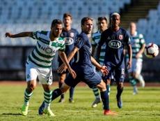 Luiz Phellype hizo un tanto en el triunfo del equipo lisboeta. Sporting_CP