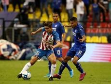 Cruz Azul anunció la lesión de Sebastián Jurado. Twitter/Chivas