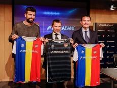 El Andorra ya tiene patrocinador principal. Twitter/FCAndorra