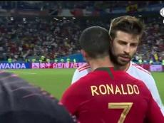 Spagna-Portogallo ai Mondiali 2018 terminò 3-3. Captura/FoxSports