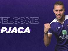 Pjaca se convirtió en nuevo jugador del Anderlecht. RSCAnderlecht