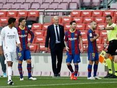 La prensa barcelonesa clama contra Martínez Munuera. EFE