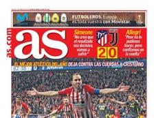 Capa do jornal 'AS' de 21-02-19. AS