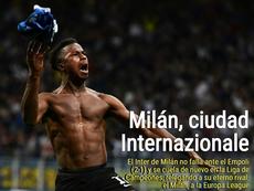El Inter estará en la Champions. BeSoccer