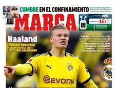 Capa da revista 'Marca' de 10 de abril de 2020. Marca