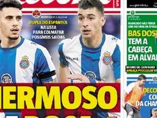 El Benfica quiere a Mario Hermoso y Marc Roca. Record