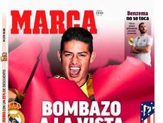 La Une de Marca du 14/07/2019. Marca
