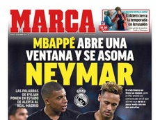 Estas son las portadas de la prensa deportiva de hoy. Marca