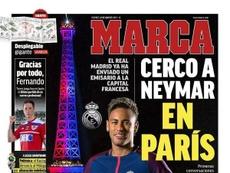 Capa do jornal Marca 23-08-19. Marca