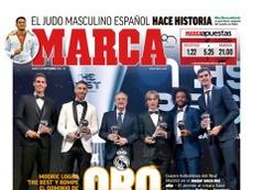 Une de Marca du 25/09/2018. Marca