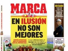 Une de 'Marca' du 24/06/19. Marca