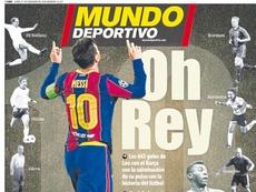 As capas da imprensa esportiva de 21 de dezembro de 2020. MD