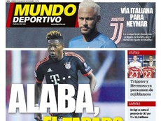 Capa do Mundo Deportivo de 19-07-19. MundoDeportivo