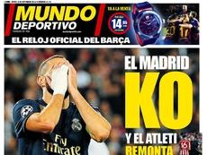 Estas son las portadas de la prensa deportiva de hoy. MundoDeportivo