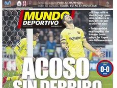 Portada Mundo Deportivo 20-02-19. MundoDeportivo