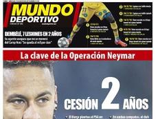 La Une de Mundo Deportivo du 21/08/2019. MundoDeportivo