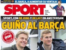 Les joueurs veulent jouer contre Barcelone. Sport