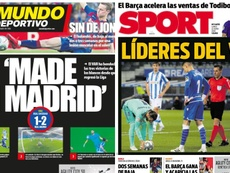 Barca-affiliated press comes out against Madrid and VAR. Sport/MD
