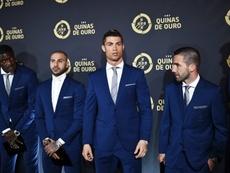A Seleção Nacional foi premiada na Gala Quinas de Ouro. FPF/QuinasdeOuro