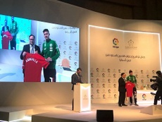 El futbolista saudí pasó unos meses en el Sporting de Gijón. RealSporting