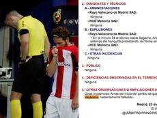 El árbitro se equivocó. EFE-Captura/RFEF