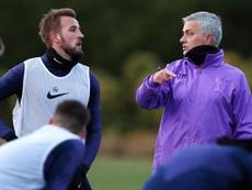La condition de Mourinho pour signer à Tottenham. Twitter/SpursOfficial
