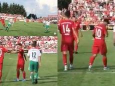 Coutinho ya marca goles con el Bayern. Twitter/FCBayern