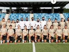 El Real Madrid Femenino se estrena este año en Liga. Twitter/RealMadridCF