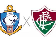Prováveis escalações de Antofagasta e Fluminense pela Copa Sul-Americana. Captura
