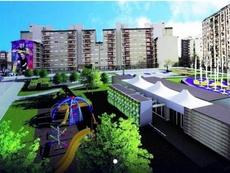 La zona contará con pistas deportivas y gimnasios. BocaJuniors