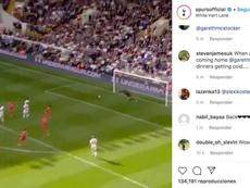 Tottenham quer Bale de volta.  Instagram/spursofficial